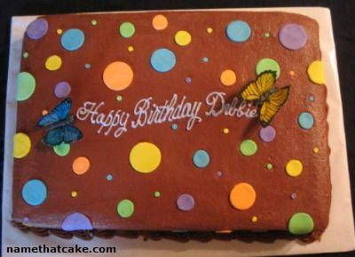 Name That Cake Send a virtual birthday cake to a friend on