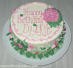 happy birthday diane cakes