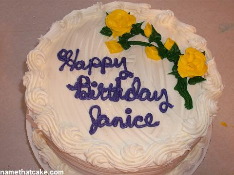 Image result for happy birthday Janice cake images