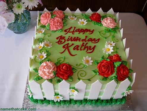 Birthday Cake Cathy Image Inspiration of Cake and Birthday Decoration