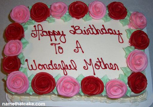 Cake Pictures For Mom : Unique Birthday Cake For Mother