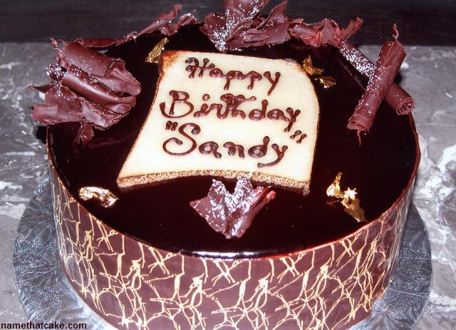 Image result for happy birthday to sandy cake