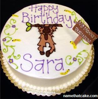 Happy Birthday Sarah Cake Image Search Results