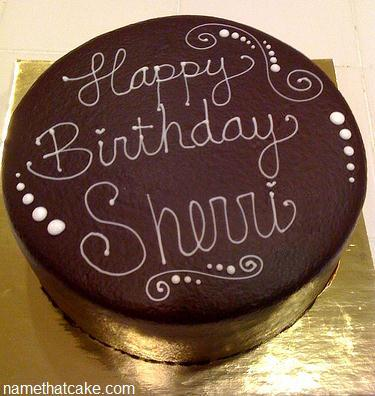 Happy Birthday Sherri Cake