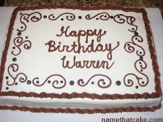 Warren S Birthday Cakes